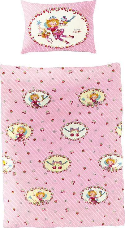 Kinderbettwäsche Kirsche Prinzessin Lillifee