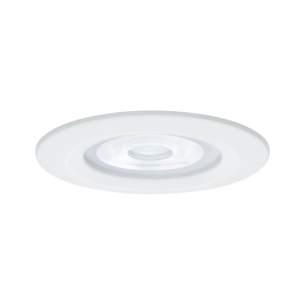 Paulmann LED Einbaustrahler »Nova rund 3x6,5W GU10 Weiß matt starr 3-Stufen-dimmbar«, GU10