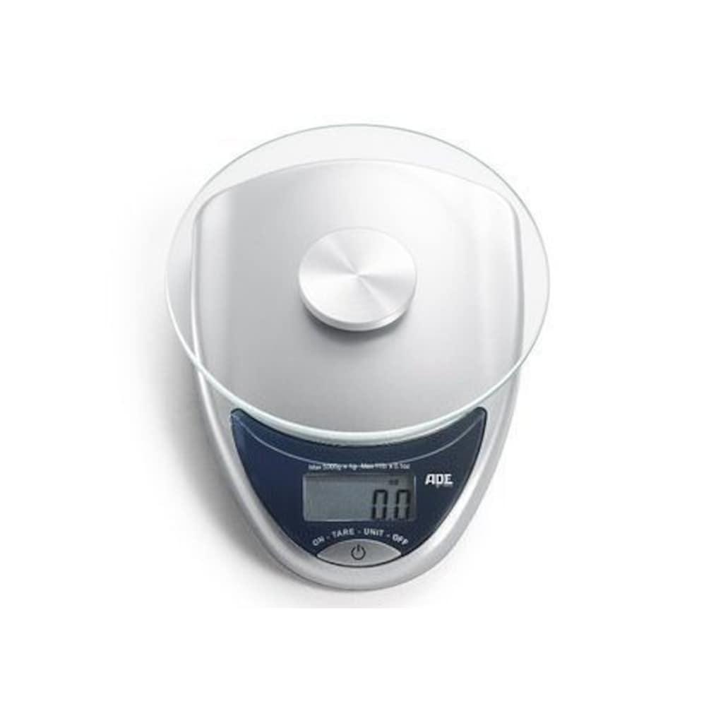 ADE Küchenwaage »KE736 Celina«, elektronische Waage mit Glas-Wiegefläche bis 5kg
