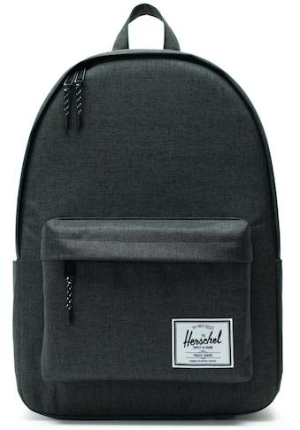 Herschel Laptoprucksack »Classic X - Large, Black Crosshatch« kaufen