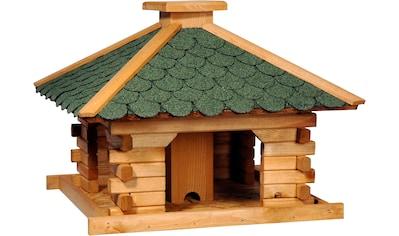 dobar Vogelhaus »Rustikal XL«, BxTxH: 50x50x38 cm kaufen