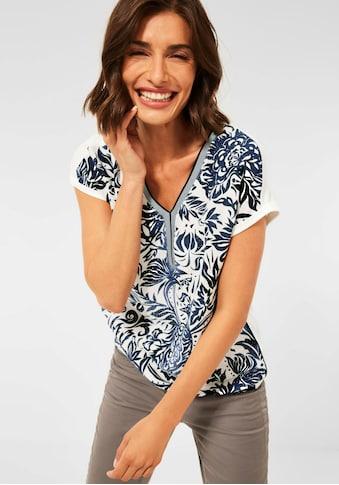 Cecil V-Shirt, mit schönem Printmuster kaufen