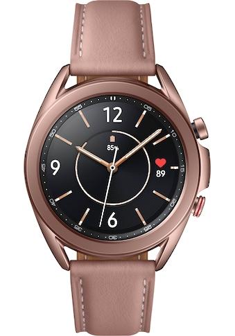 Samsung Smartwatch »Galaxy Watch3, Edelstahl, 41 mm, LTE (SM-R855)«,  kaufen