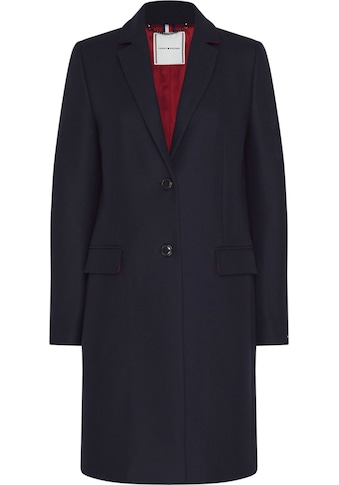 TOMMY HILFIGER Kurzmantel »TH ESS WO BLEND CLASSIC COAT« kaufen