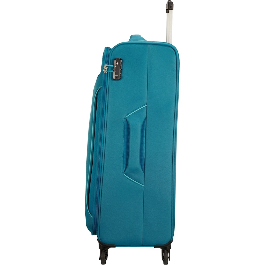 American Tourister® Weichgepäck-Trolley »Holiday Heat, 79 cm, petrol green«, 4 Rollen