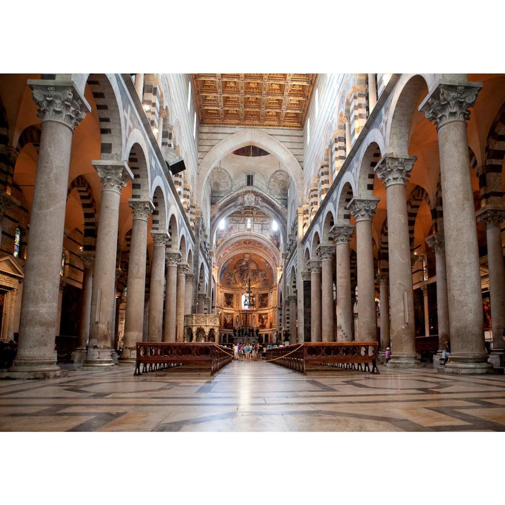Papermoon Fototapete »Kathedrale von Pisa«, Vliestapete, hochwertiger Digitaldruck