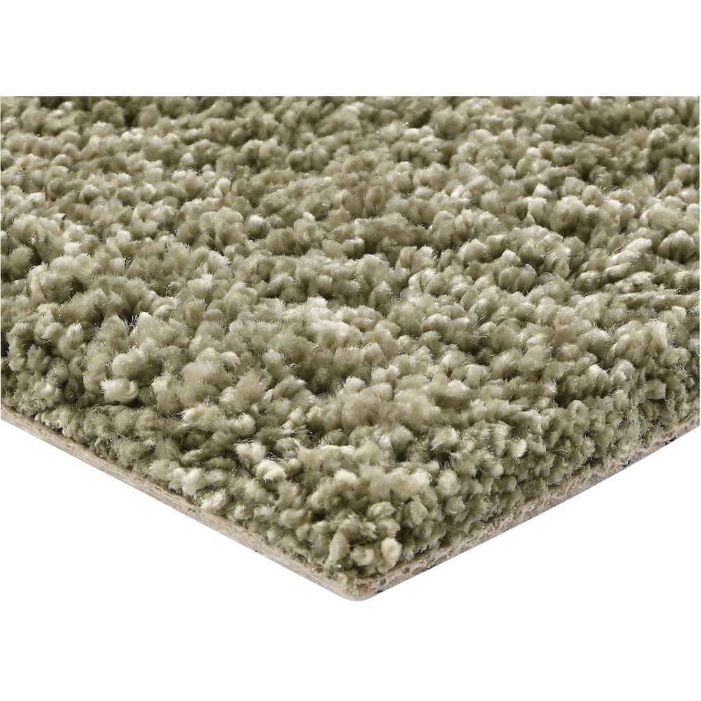 Bodenmeister Teppichboden »Hochflor Velours«, rechteckig, 12 mm Höhe, Meterware, Breite 400 cm, uni, schallschluckend