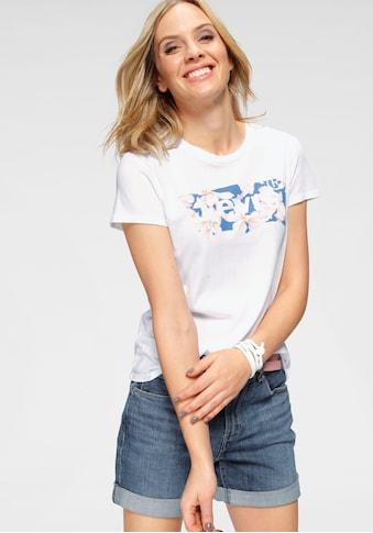 Levi's® T-Shirt »The Perfect Tee«, mit foralem Batwing- Print kaufen