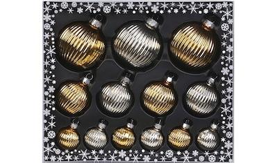MAGIC by Inge Weihnachtsbaumkugel »Inkagold«, (Set, 13 St.), hochwertiger... kaufen