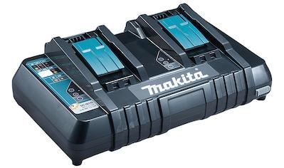 Makita Akku-Ladestation »DC18RD«, (1 St.), Schnellladegerät für 14,4 V und 18 V Akkus geeignet kaufen