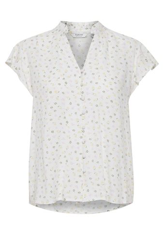 b.young Kurzarmbluse »b.young Damen Kurzarm Bluse mit Print«, Blusenshirt mit kleinem... kaufen