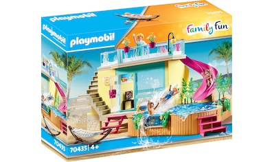 Playmobil® Konstruktions-Spielset »Bungalow mit Pool (70435), Family Fun«, ; Made in Germany kaufen