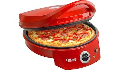 bestron Pizzaofen »Viva Italia«, 1800 W, Ober-/Unterhitze, Bis max. 180°C, 1800 Watt,... kaufen