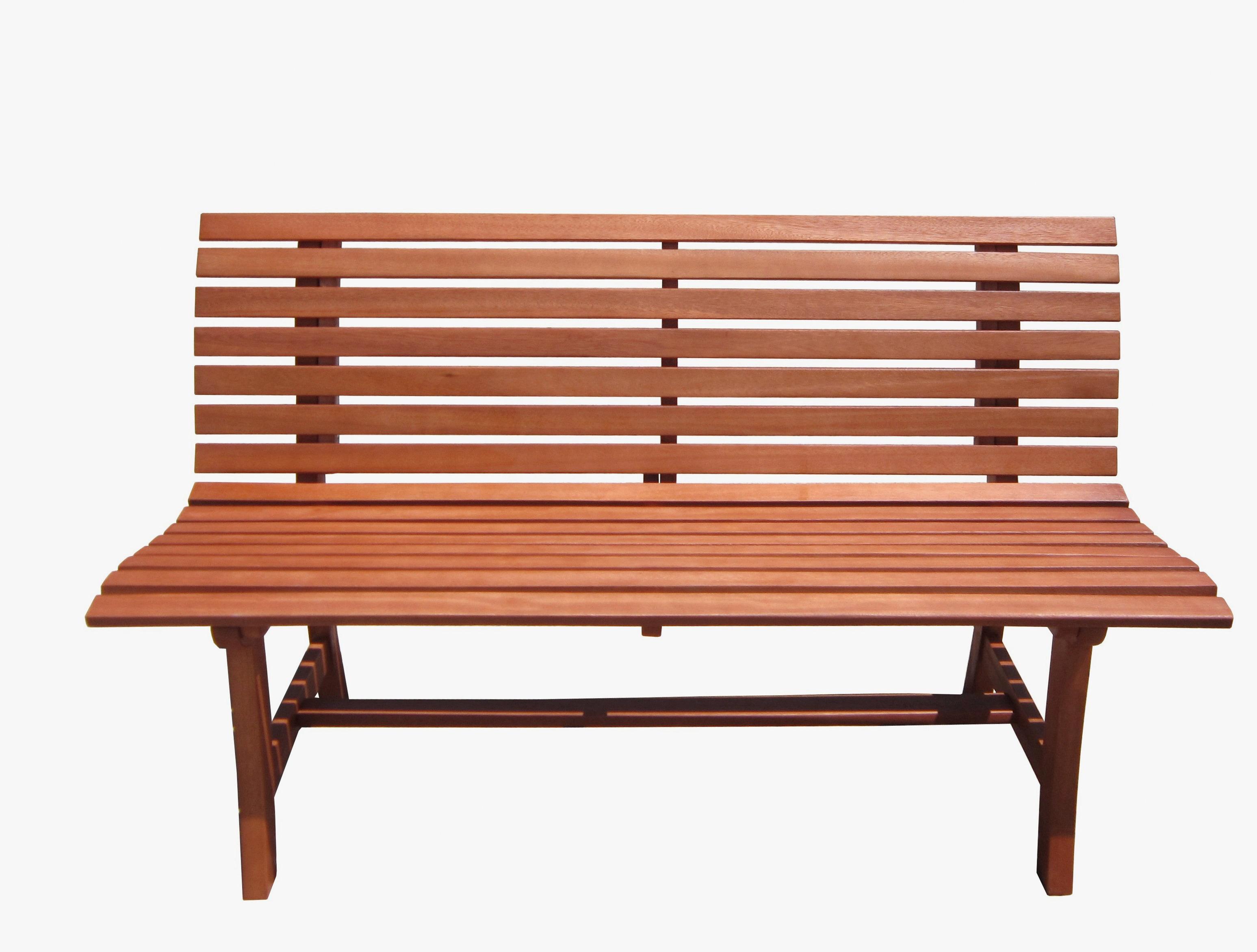 Gartenbank Moreno Eukalyptus 140x67x93 cm braun