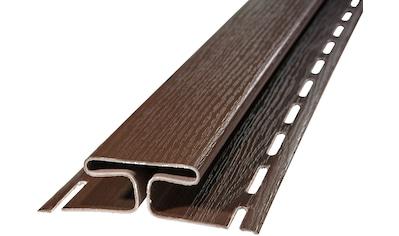 Baukulit VOX Verbindungsprofil »SOFFIT Braun«, für Dachüberstand, je 1,525 m kaufen