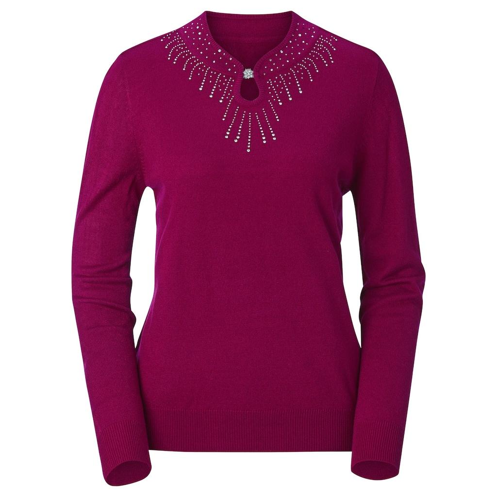 Lady Stehkragenpullover »Pullover«