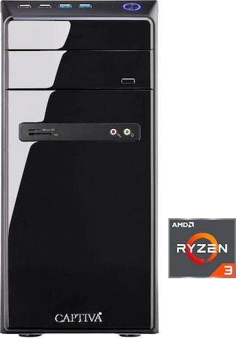 CAPTIVA »B4A 19V2« Gaming - PC (AMD, Ryzen 3, Radeon RX Vega 8, Luftkühlung) kaufen