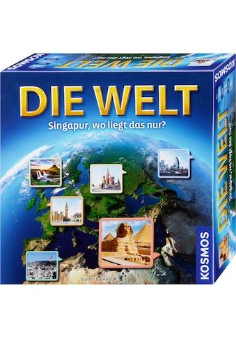 Kosmos Spiel »Die Welt - Singapur, wo liegt das nur?«, Made in Germany kaufen