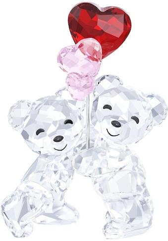 Swarovski Dekofigur »Kris Bär – Herzballons, 5185778«, Swarovski® Kristall mit... kaufen