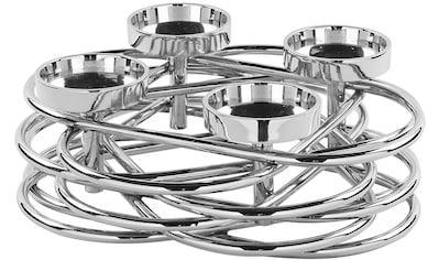 Fink Adventsleuchter »Duplex«, 4-flammiger Kerzenhalter im eleganten Design kaufen