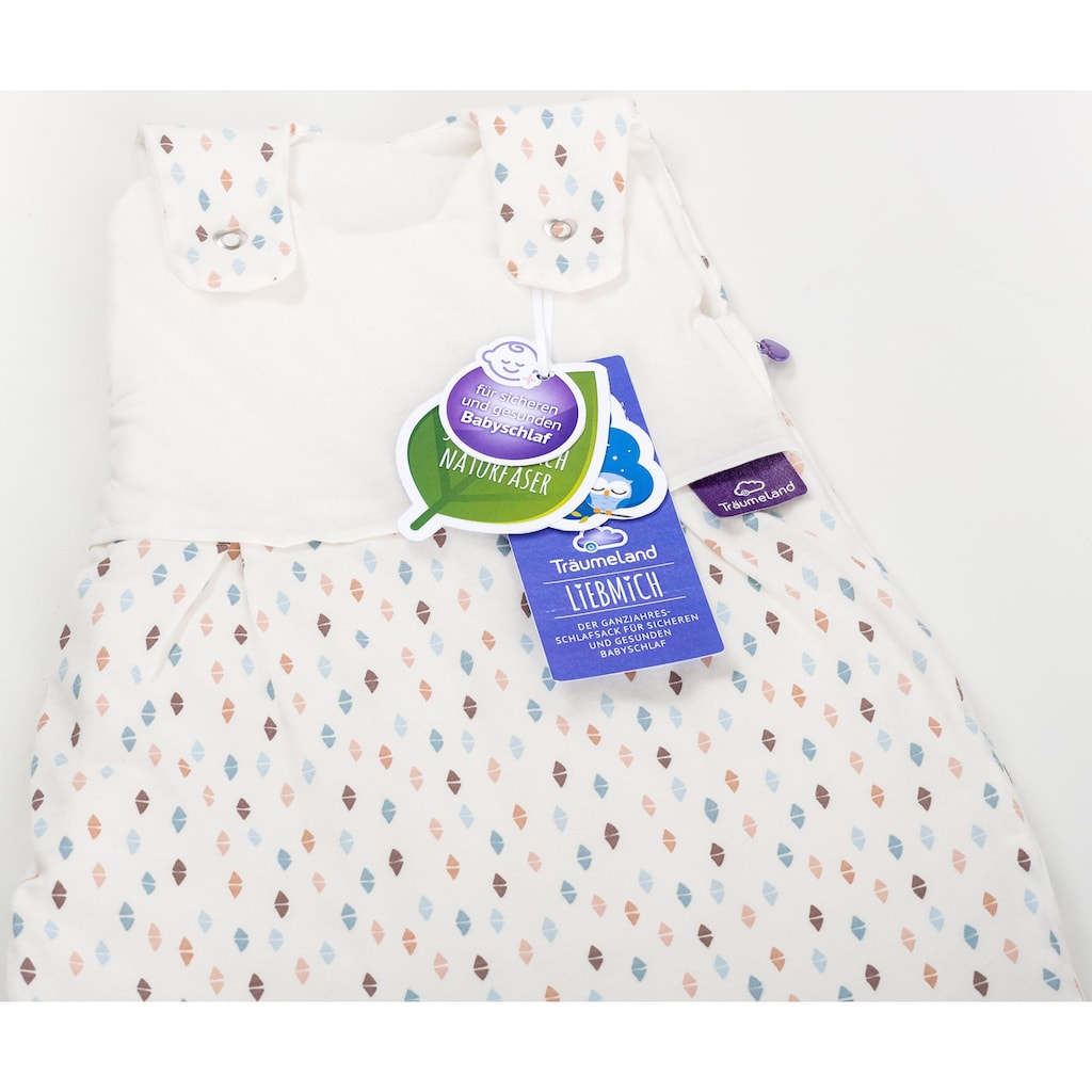 Träumeland Babyschlafsack »Set Dreiecke bunt«, (Packung, 3 tlg., 3er-Pack)