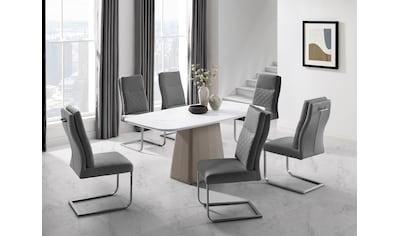 Places of Style Esstisch »Delaware«, Tischplatte in Marmoroptik kaufen