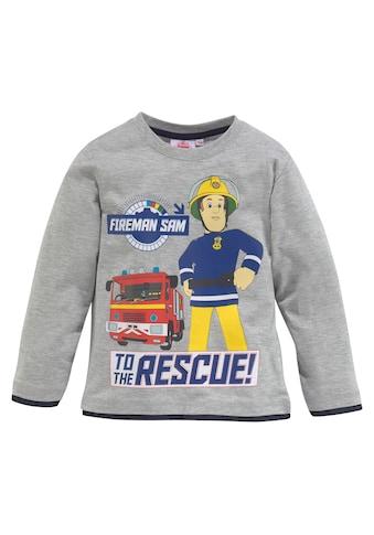 Feuerwehrmann Sam Langarmshirt »Fireman Sam« kaufen