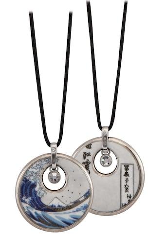 Goebel Kette mit Anhänger »Die Welle, Katsushika Hokusai, 67045021«, mit Kristallen kaufen