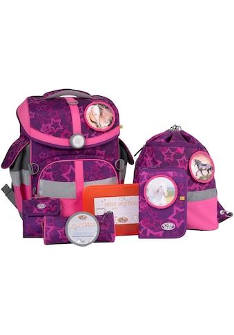 SCHOOL - MOOD® Schulranzen »Timeless Air, Lea« (Set, 7 tlg.) kaufen