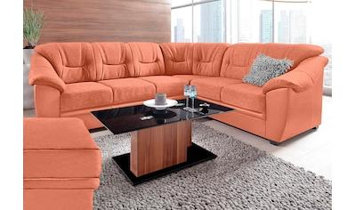 sit&more Ecksofa, wahlweise mit Bettfunktion, inklusive Federkern, frei im Raum stellbar kaufen