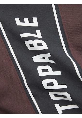 TOM TAILOR Sweatshirt »Hoodie mit Schrift-Print« kaufen