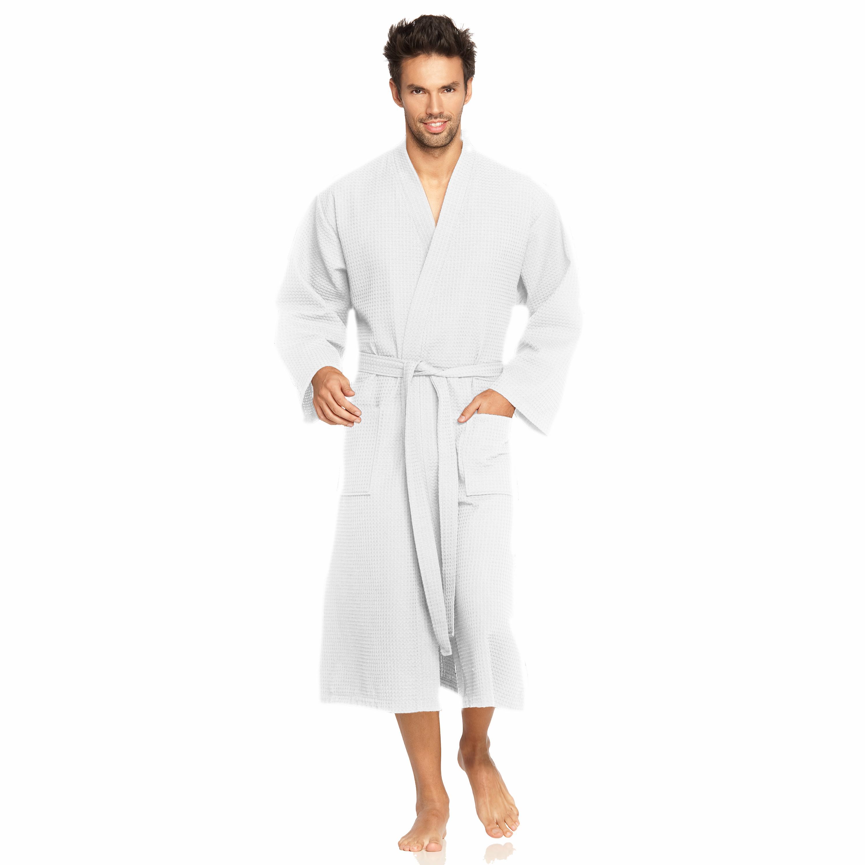 Herrenbademantel Wellington Vossen | Bekleidung > Wäsche > Bademäntel | Weiß | Vossen
