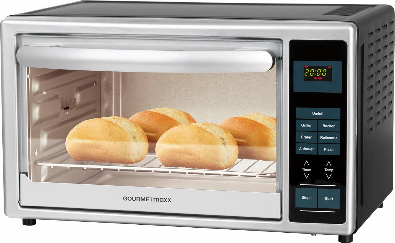 GOURMETmaxx Minibackofen Infrarot-Ofen 500 W | Küche und Esszimmer > Küchenelektrogeräte > Küche Grill | Gourmetmaxx