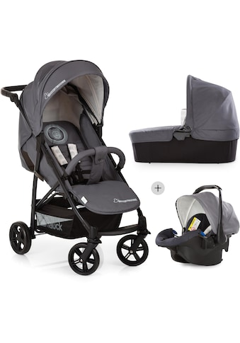Hauck Kombi-Kinderwagen »Rapid 4X Plus Trio Set, Mickey Cool Vibes«, 25 kg, mit Babyschale kaufen