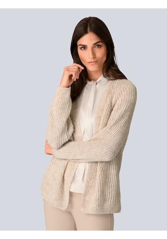 Alba Moda Strickjacke, in luftigem Grobstrick kaufen