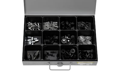 RAMSES Sortimentskasten , mit Clips Ford/Opel/VW, 107 Teile kaufen