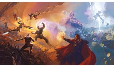 Komar Fototapete »Avengers Epic Battles Two Worlds«, bedruckt-Comic-Retro-mehrfarbig,... kaufen