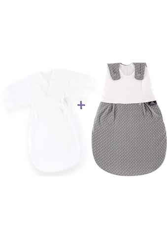 Träumeland Babyschlafsack »Set Pünktchen grau« ((Packung, 3 - tlg., 3er - Pack)) kaufen