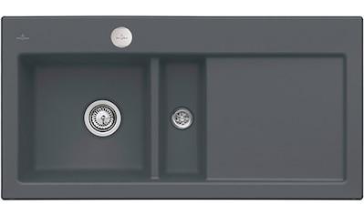 Villeroy & Boch Küchenspüle »Subway 60«, inkl. Ablaufgarnitur mit Excenterbetätigung,... kaufen