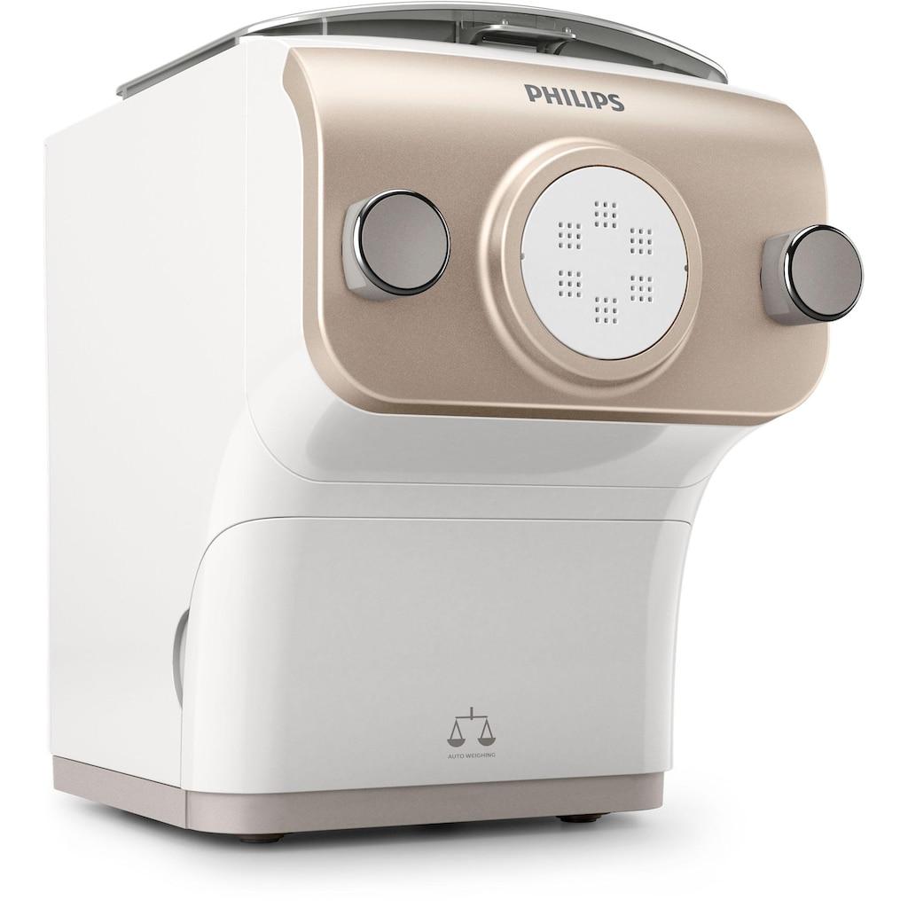 Philips Nudelmaschine »Pastamaker HR2381/05 Avance Collection«, mit Wiegefunktion und 6 Formscheiben