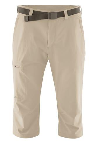 Maier Sports Caprihose »Jennisei«, Funktionscapri aus atmungsaktivem, elastischem Material kaufen