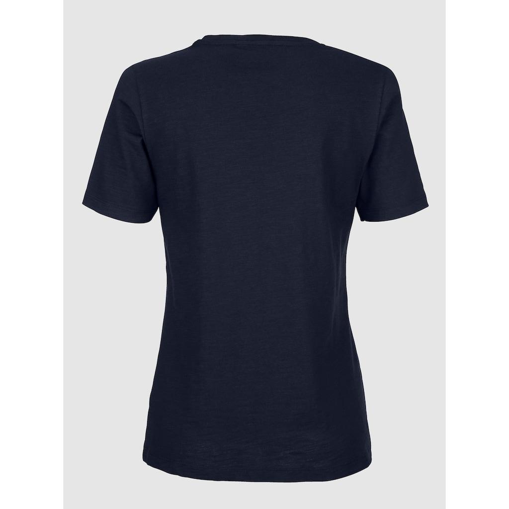 Dress In Shirt mit Frontprint