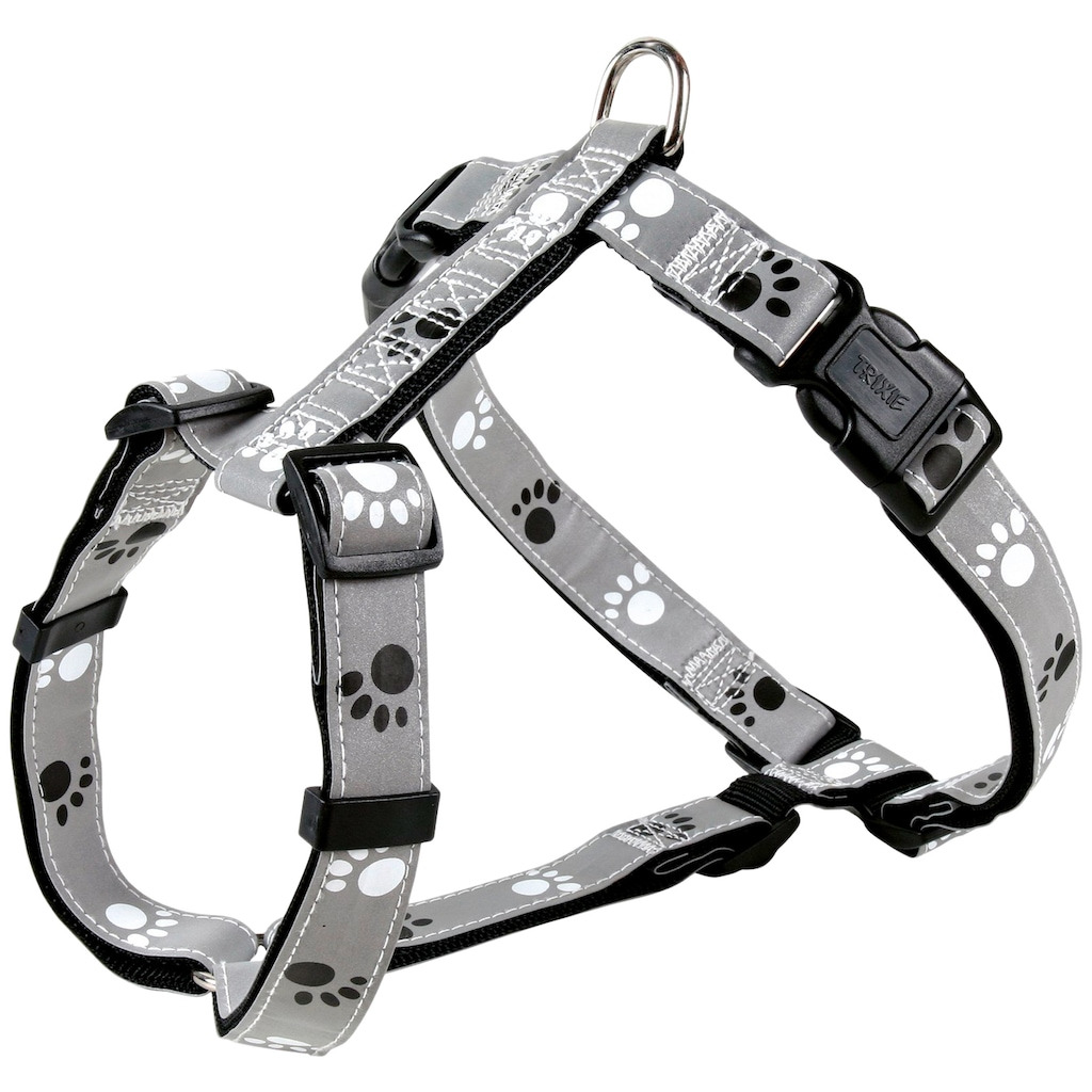 TRIXIE Hunde-Geschirr »Silver Reflect«, Nylon-PVC