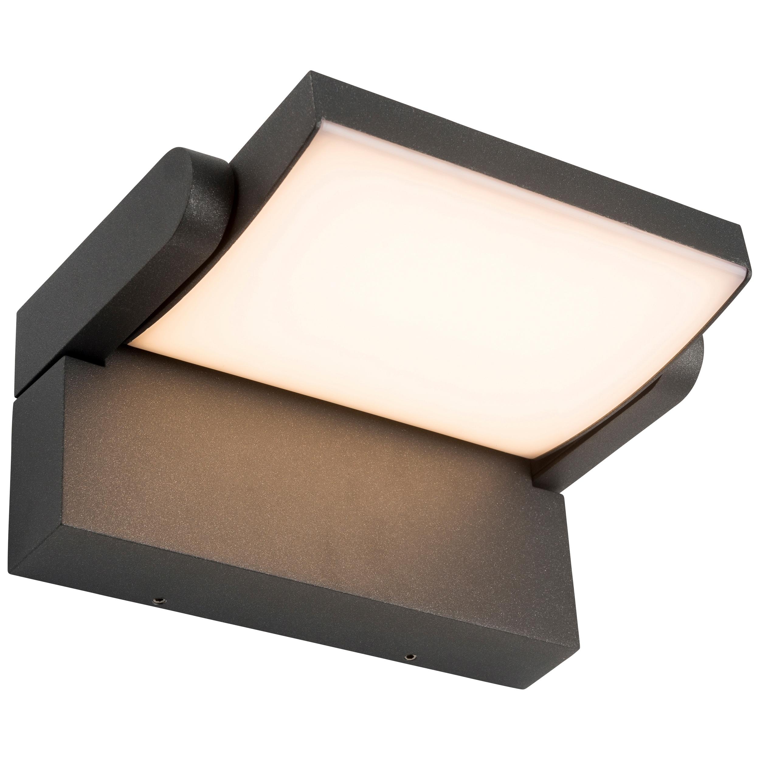 AEG Grady LED Außenwandleuchte anthrazit