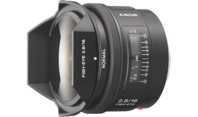 Sony Objektiv »16F28 A - Objektiv für Digitalkameras« kaufen