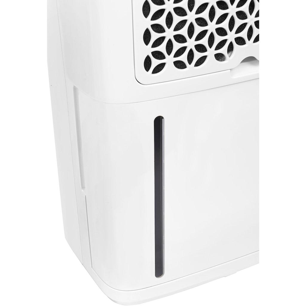 exquisit Luftentfeuchter »LE 2055 wes«, für 35 m³ Räume, Entfeuchtung 20 l/Tag, Tank 5,5 l