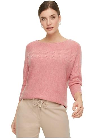 Comma 3/4 Arm-Pullover, Wolle mit Kaschmir kaufen