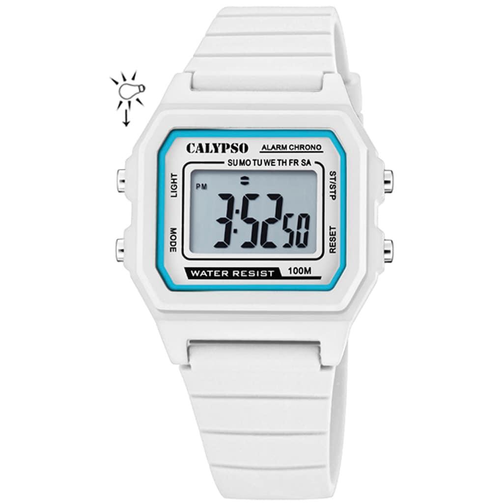 CALYPSO WATCHES Chronograph »Digital Crush, K5805/1«