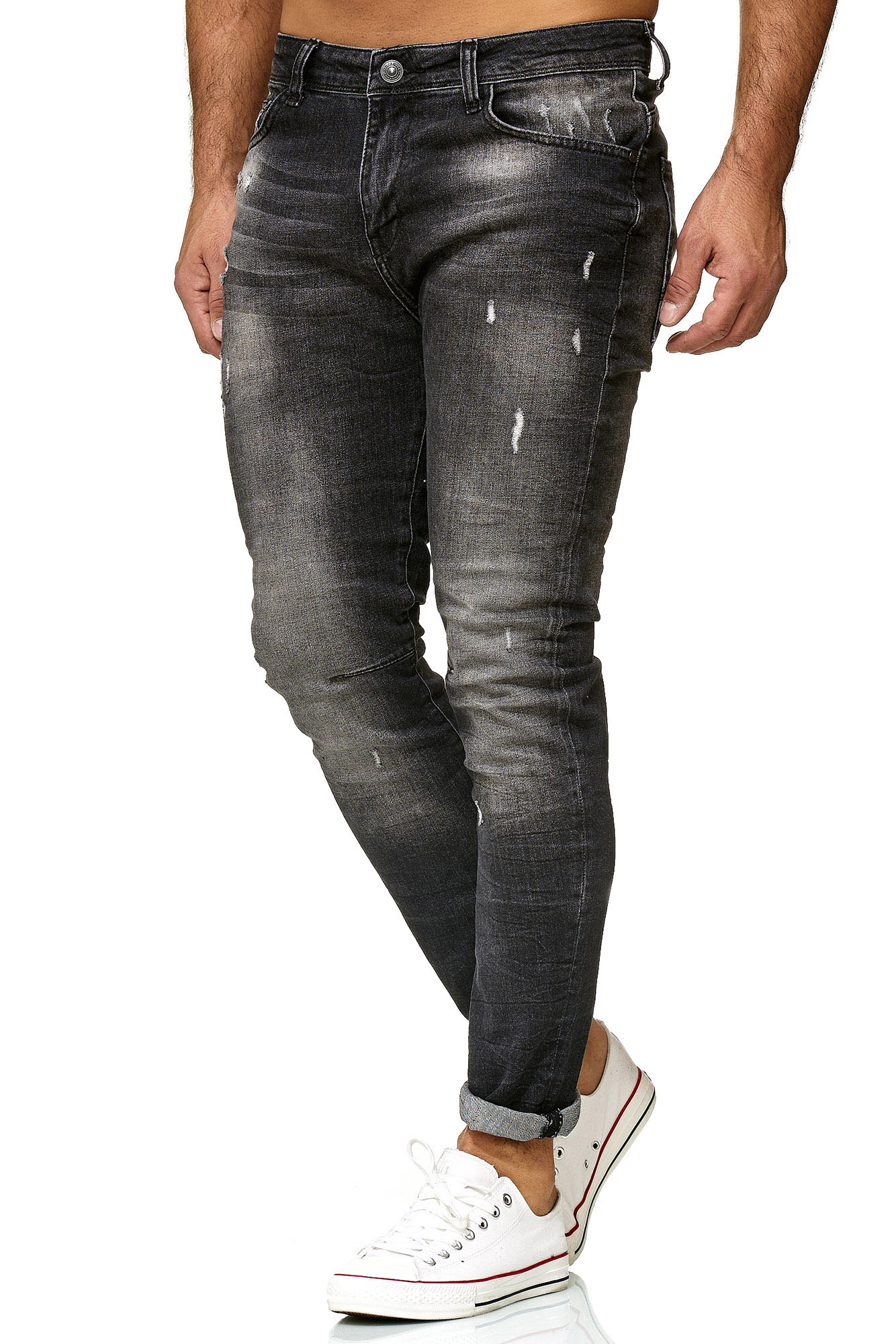 redbridge -  Bequeme Jeans Nagoya, in detaillierter Destroyed-Optik