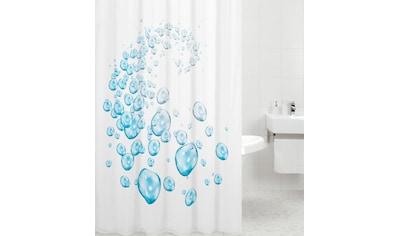 Sanilo Duschvorhang »Wassertropfen weiß«, Breite 180 cm, Höhe 200 cm kaufen
